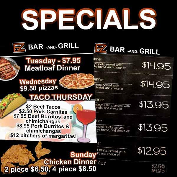 The EZ Bar & Grill in Bear Creek WI